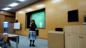 福岡県立城南高校でのEPS講演しました。